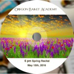 6 pm spring 2016 disc label