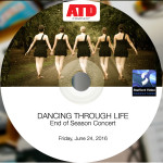 Dancing Through Life_store label